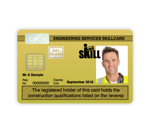 Cscs Gold Card >> Skillcard Official Skillcard Website